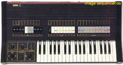 Korg Sigma synthesizer