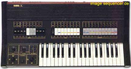Korg Sigma synthesizer
