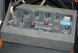 Korg VCF synthesizer