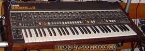 Korg Trident synthesizer