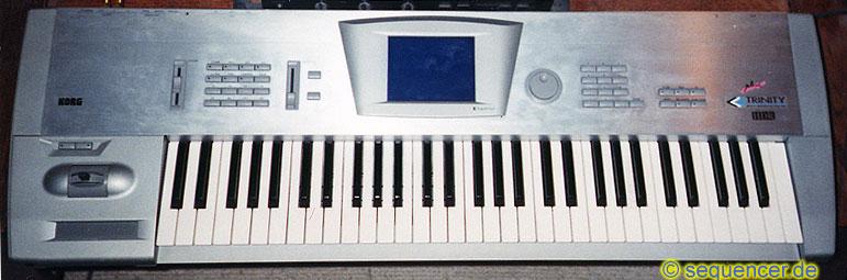 Korg Trinity, TRrack synthesizer