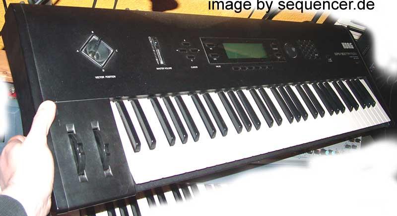 Korg Wavestation AD, Wavestation SR, Wavestation EX synthesizer