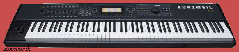 Kurzweil PC3X synthesizer