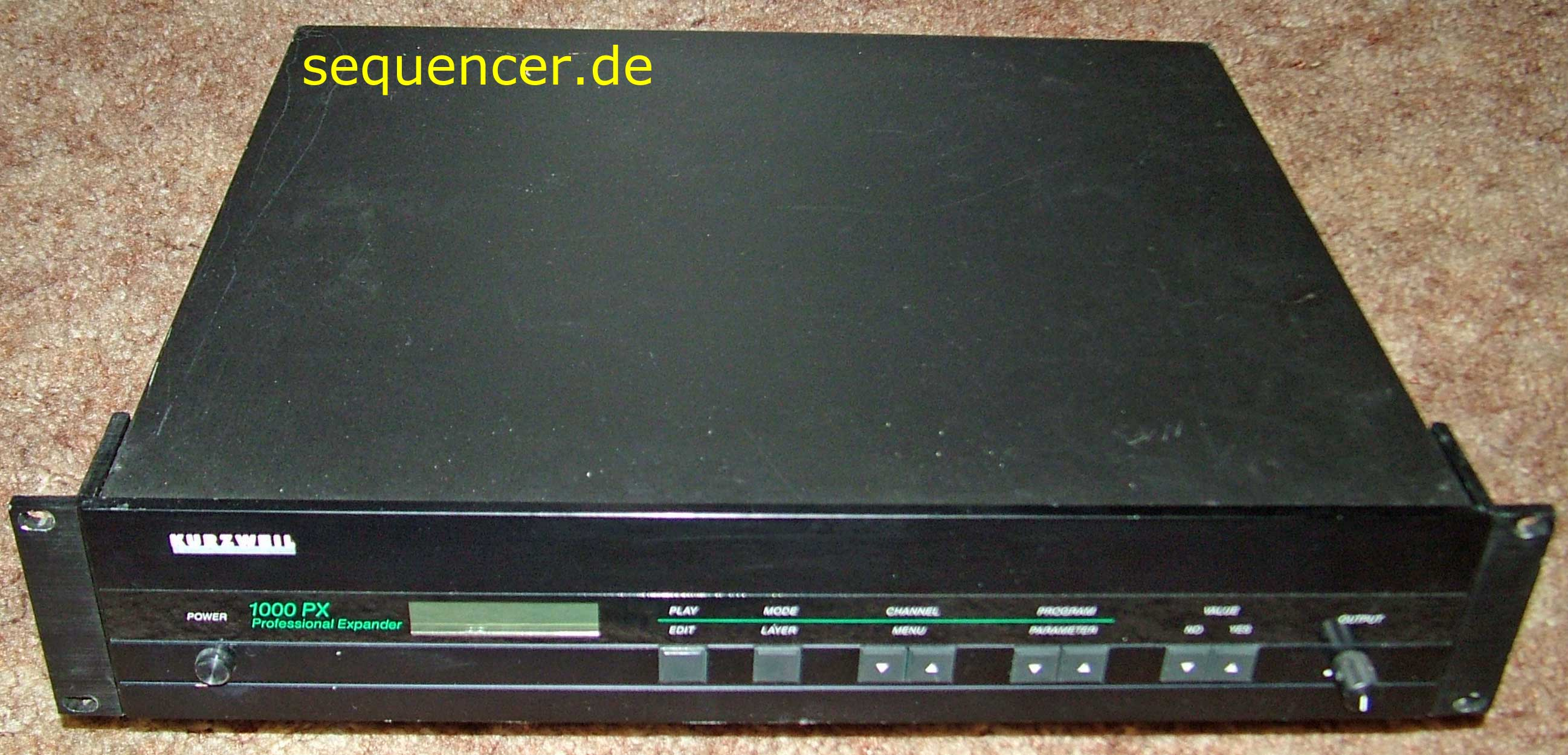 Kurzweil K1000SXA, K1000HXA, K1000PXA, K1000PXB synthesizer