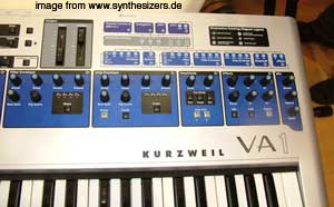 kurzweil VA1 synthesizer