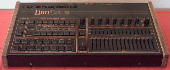 Linn Linndrum synthesizer