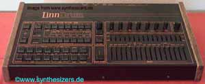 Linn Linndrum synthesizer