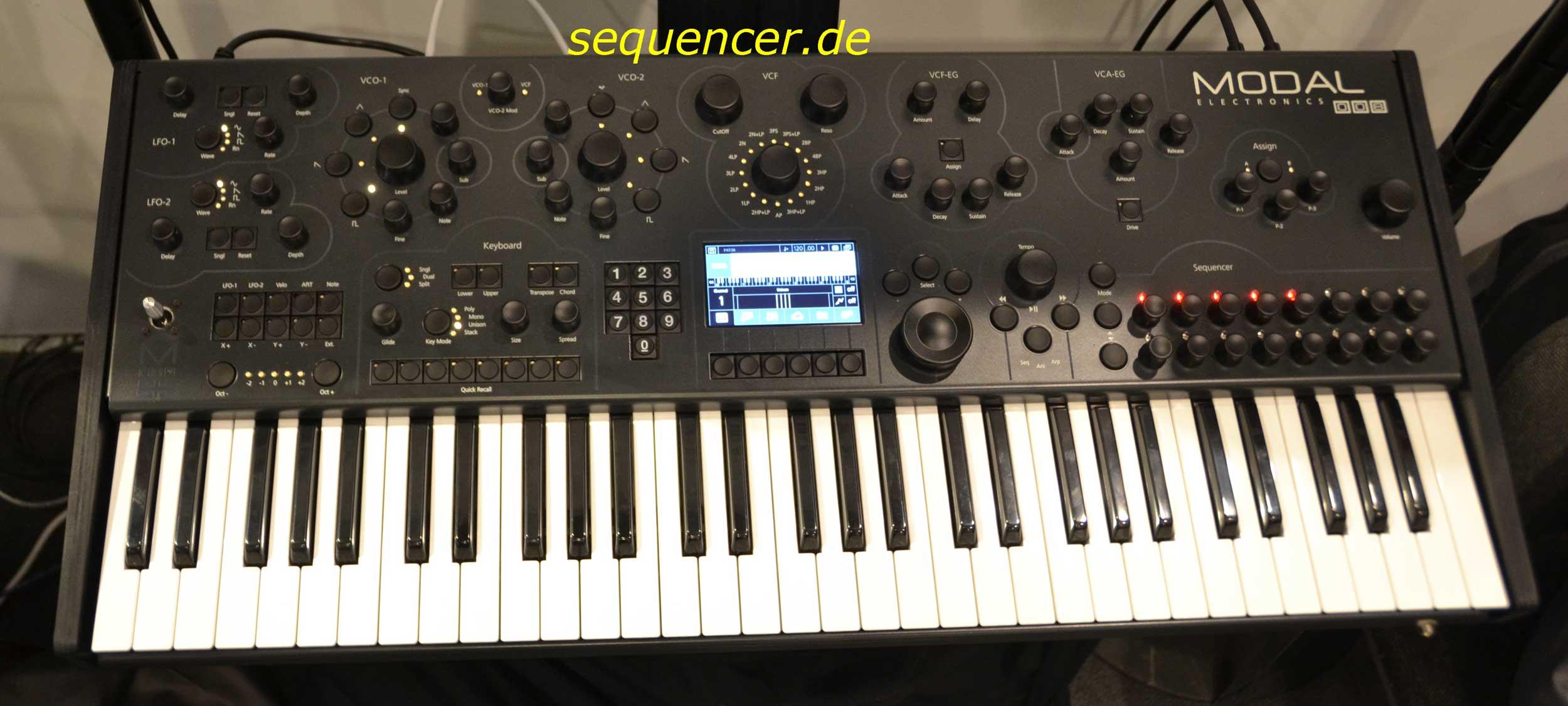 Modal 008 synthesizer
