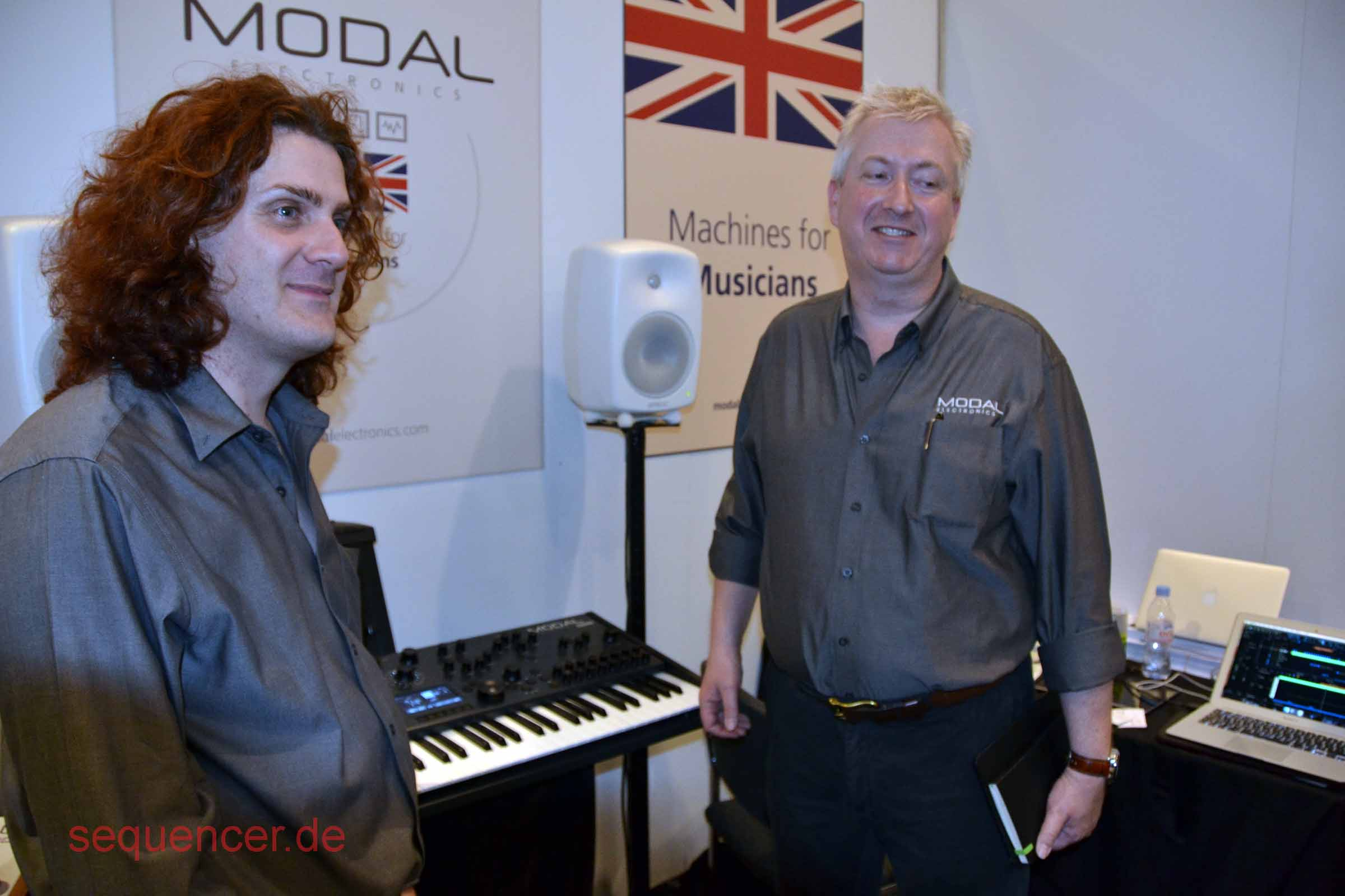 about the MODAL synthesizer company
