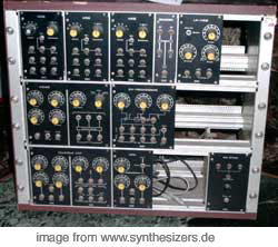 BME Axiom ModularPM10 synthesizer