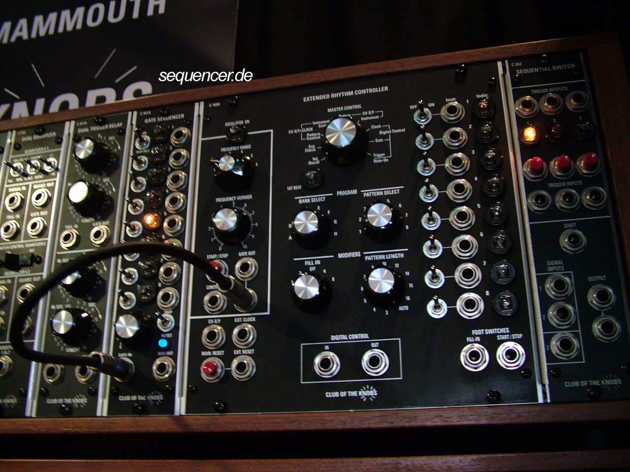 COTK Modular Synthesizer Club of the Knobs synthesizer