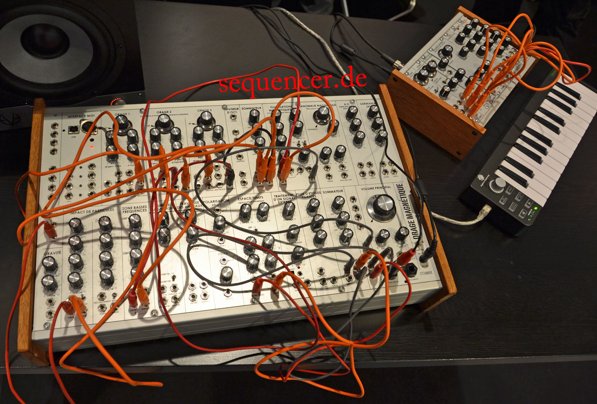 EOwave Orage Magnetique synthesizer