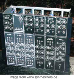 formant modular synthesizer