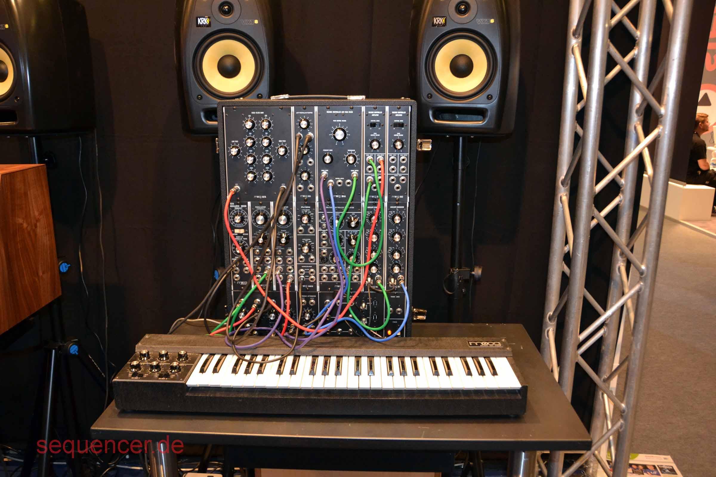 Moog System 15 - re-release 2014/15 Moog System 15 - re-release 2014/15 synthesizer