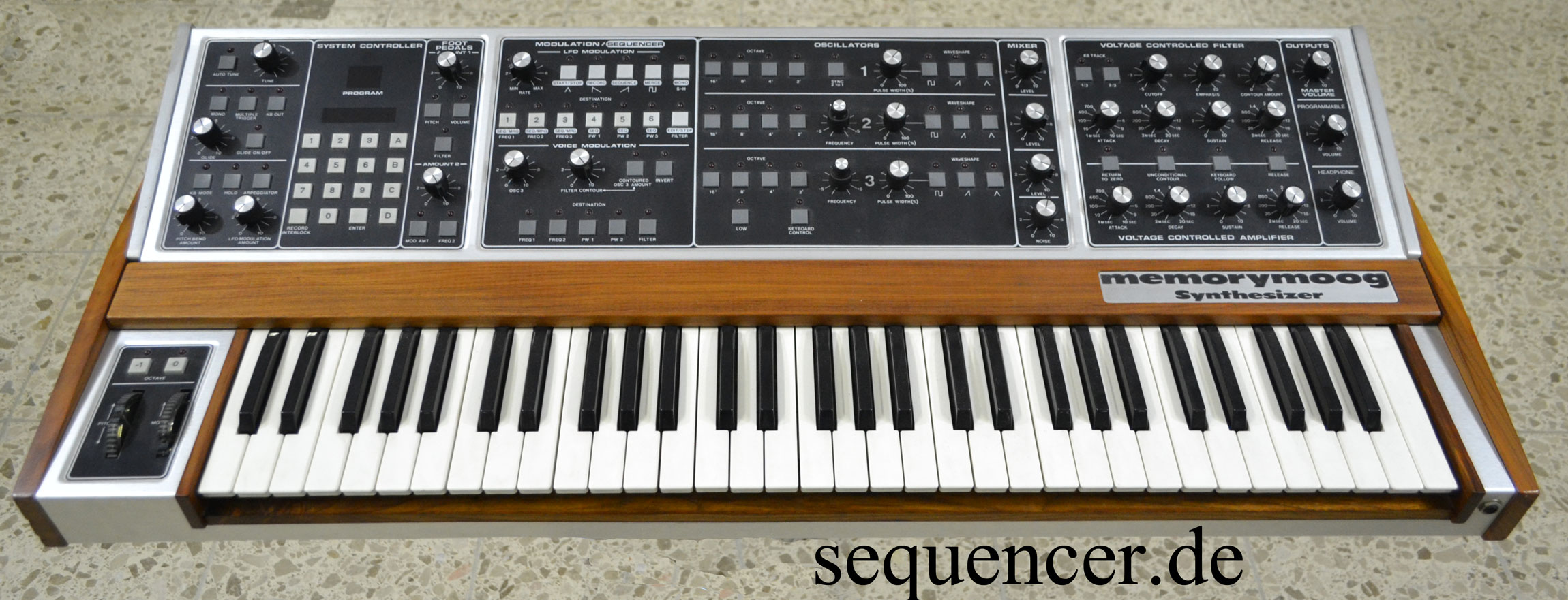 Moog Memorymoog synthesizer