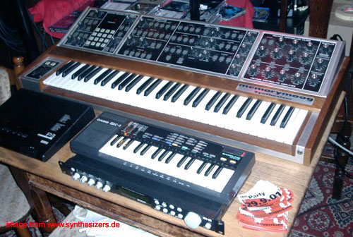 Casio SK1 synthesizer
