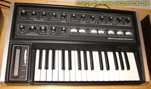Moog Micromoog synthesizer