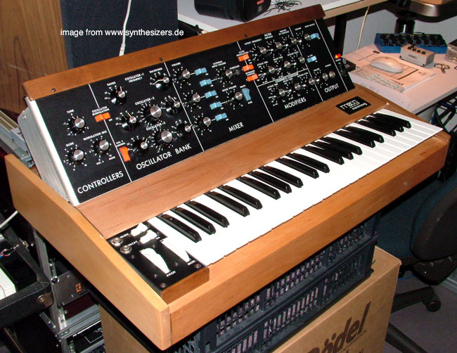 Moog Minimoog synthesizer