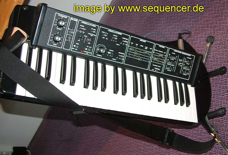 Moog Liberation synthesizer