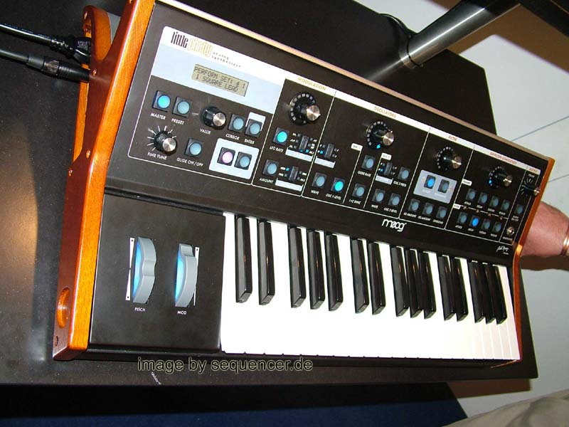 Moog Little Phatty synthesizer