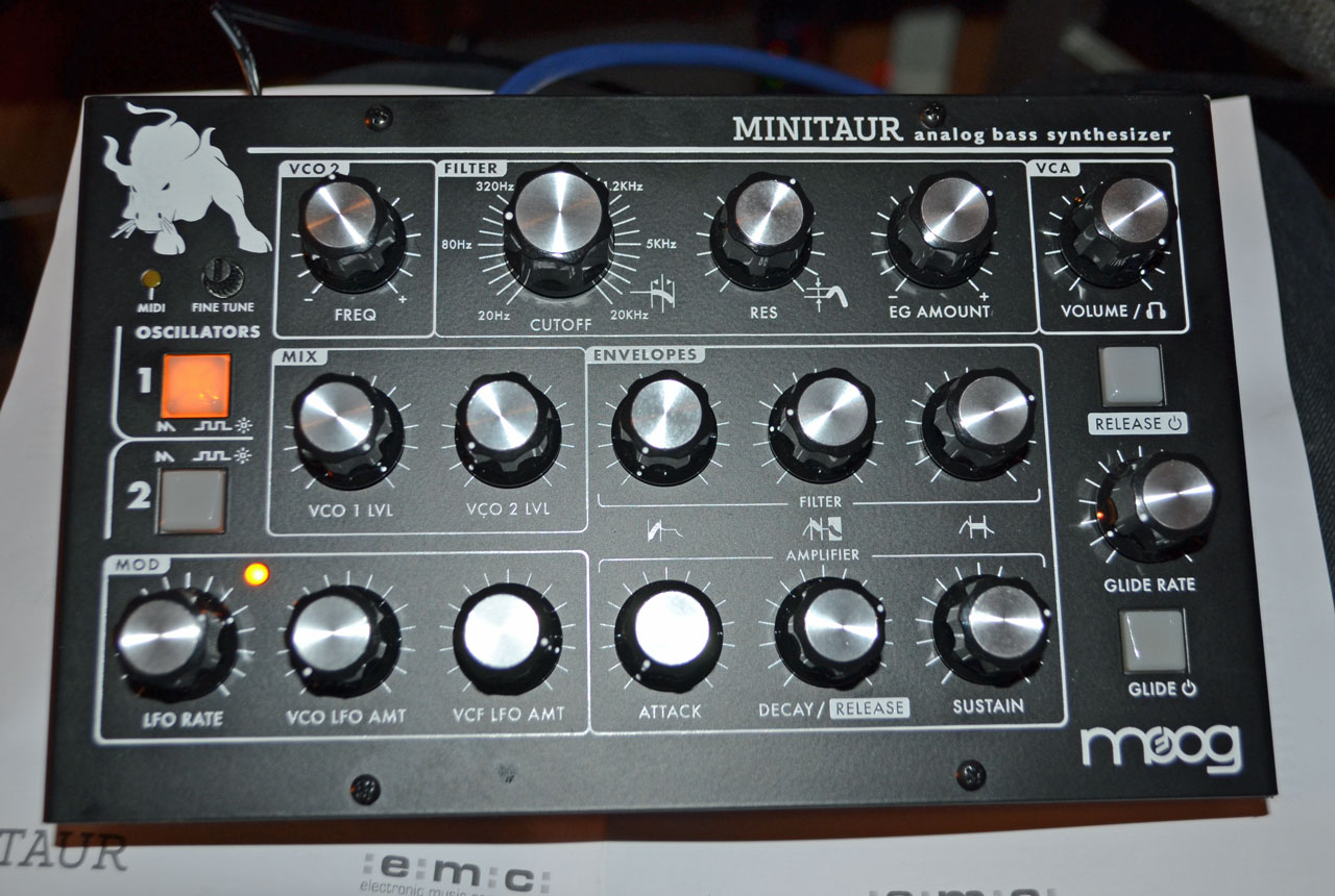 Moog Minitaur synthesizer