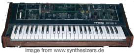moog opus 3 synthesizer