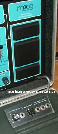 Moog sonic six panel and jacks