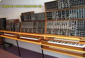 Moog Modular System 10, System 35 System 55 synthesizer