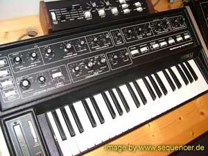 Moog Multimoog synthesizer