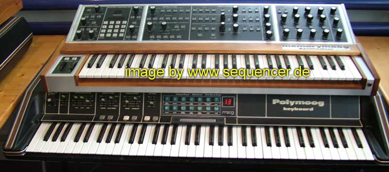 Moog Polymoog Keyboard synthesizer