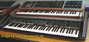 Moog Polymoog synthesizer