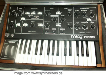 moog prodigy modified