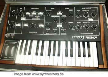Moog Prodigy Moog Prodigy Mod. synthesizer