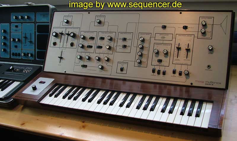 Musonics Sonic V, Sonic Five , Sonic 5 synthesizer
