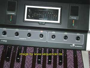 Moog Taurus synthesizer