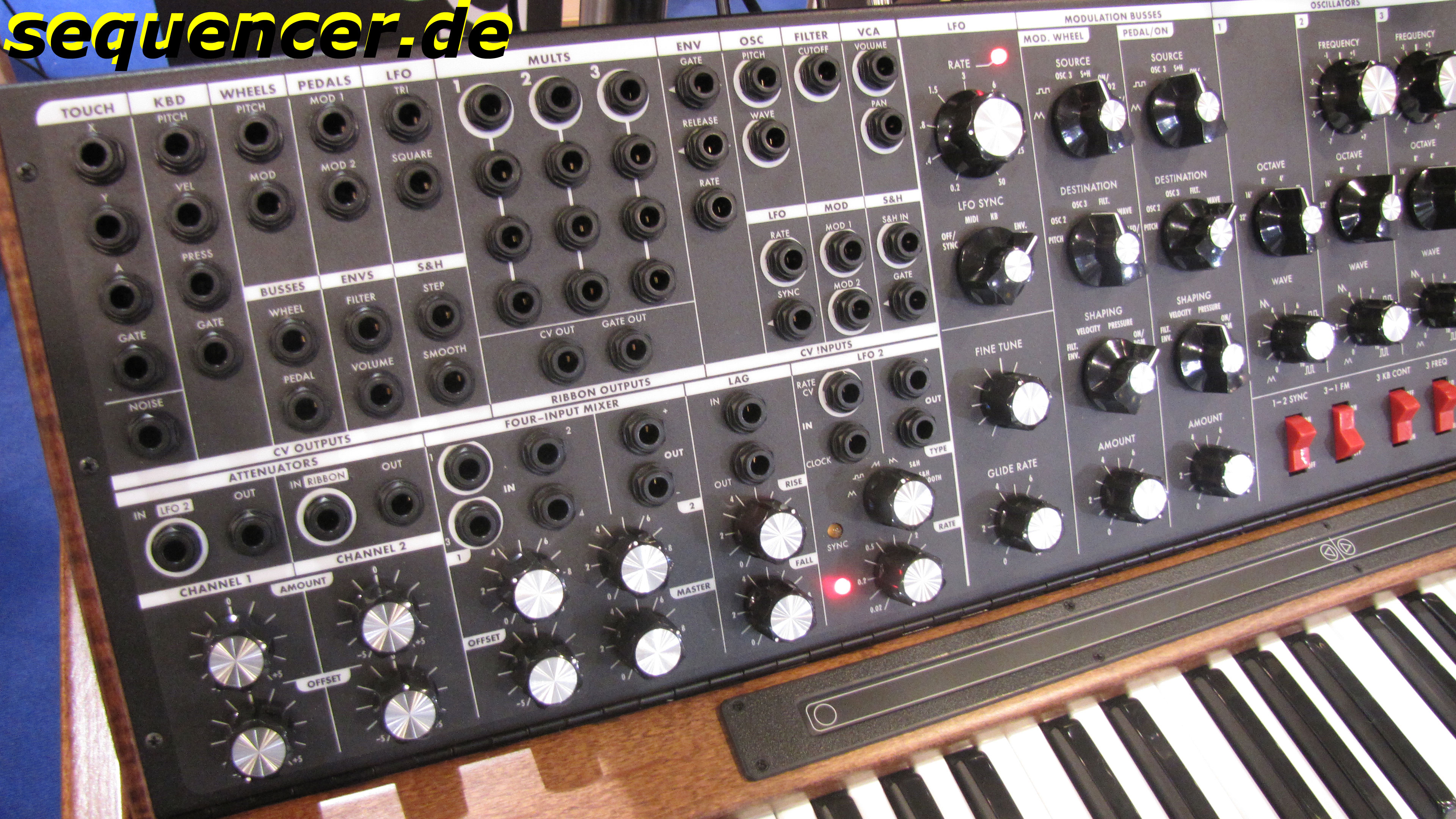 Moog Minimoog Voyager XL Analog Synthesizer