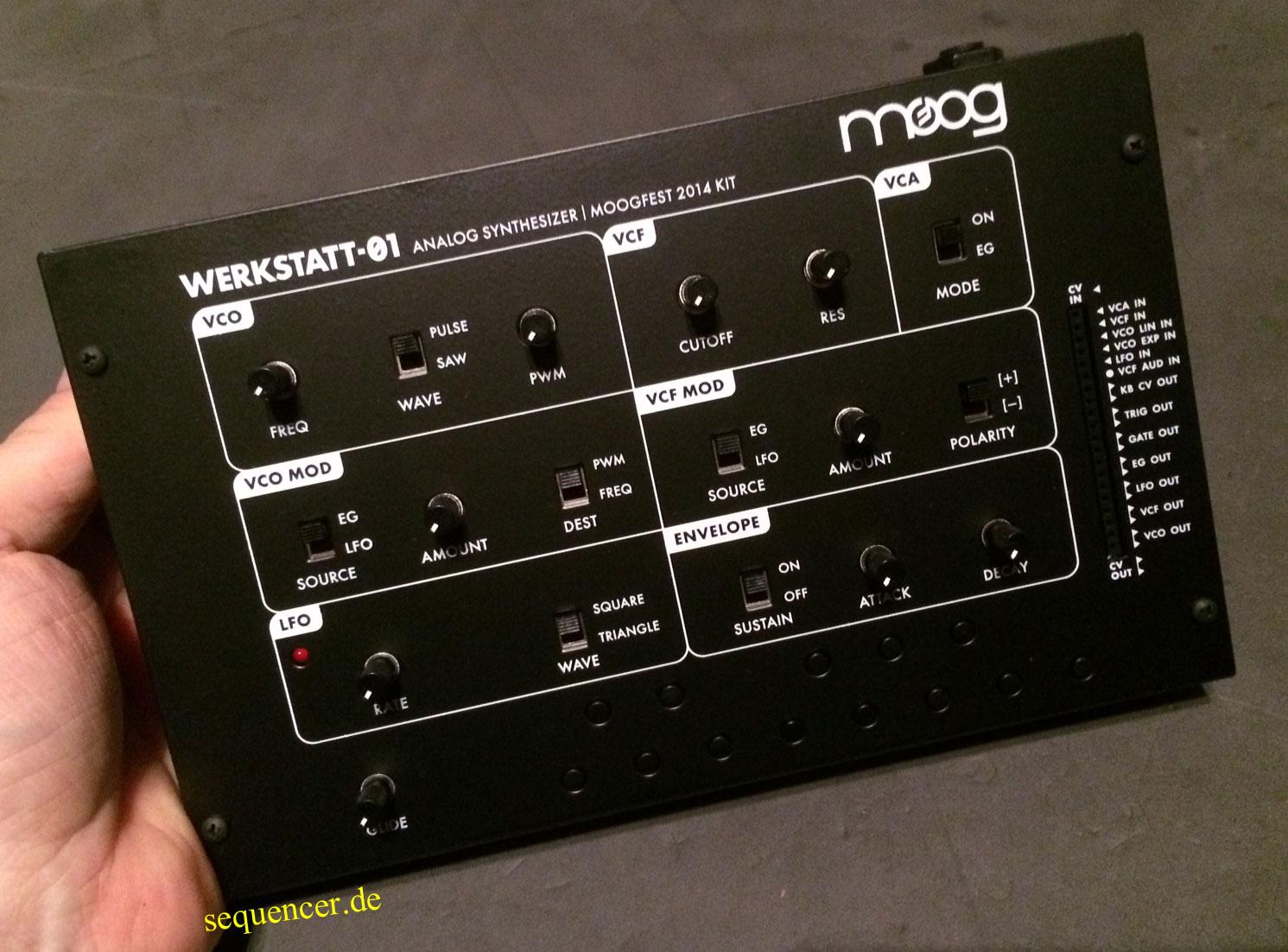 Moog Werkstatt synthesizer