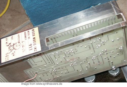moog modular synthesizer system module 911 EG