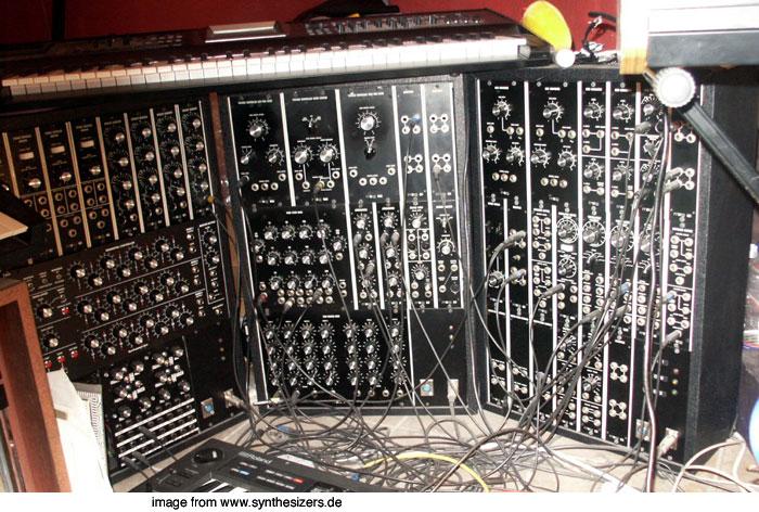 moog modular synthesizer system