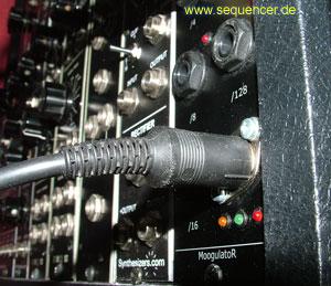 Moogish Modular Moogish Modular synthesizer