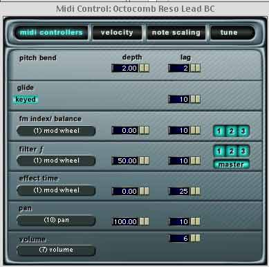 absynth 2 midi controller