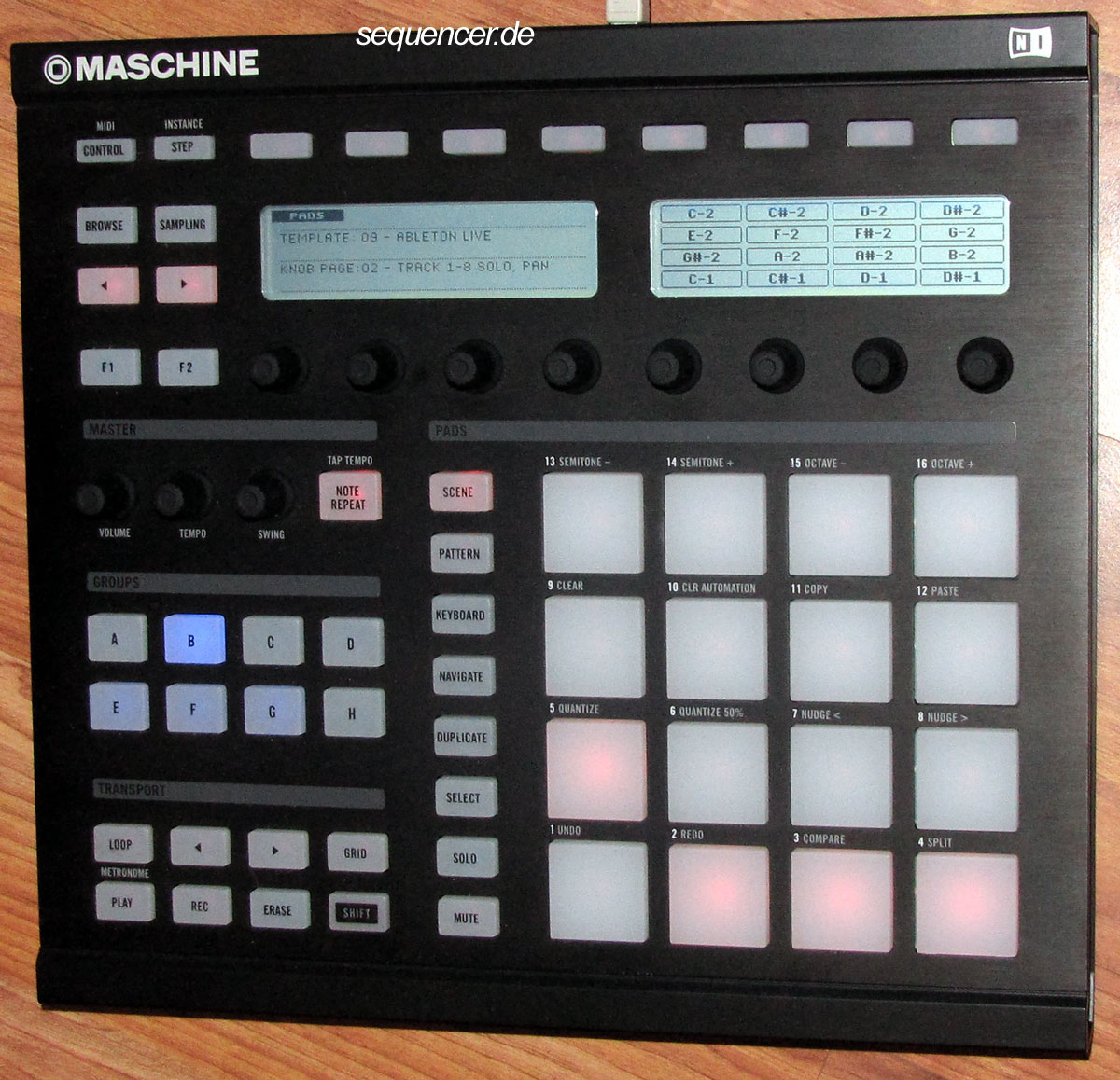 Native Instruments Maschine synthesizer