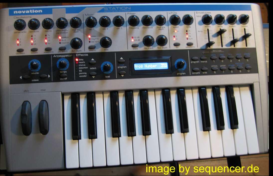 Novation a Station , k Station synthesizer
