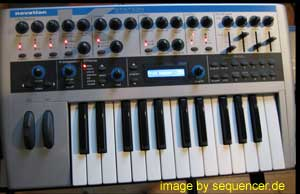 Novation aStation, kStation synthesizer