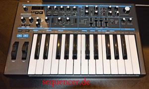 Novation BassStation2 synthesizer