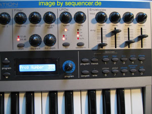 Novation K-Station Novation K-Station synthesizer
