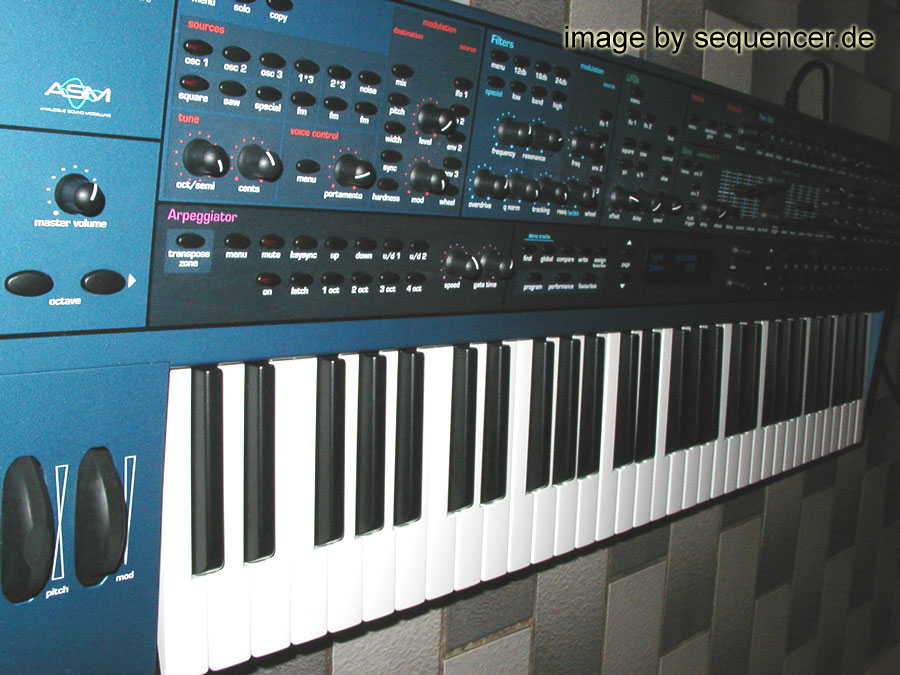 Novation Supernova synthesizer