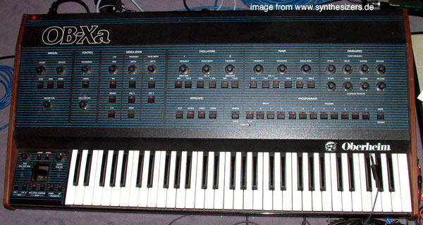 Oberheim OBXa synthesizer