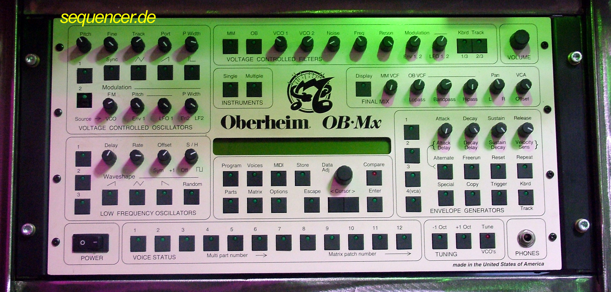 Oberheim OBMx synthesizer