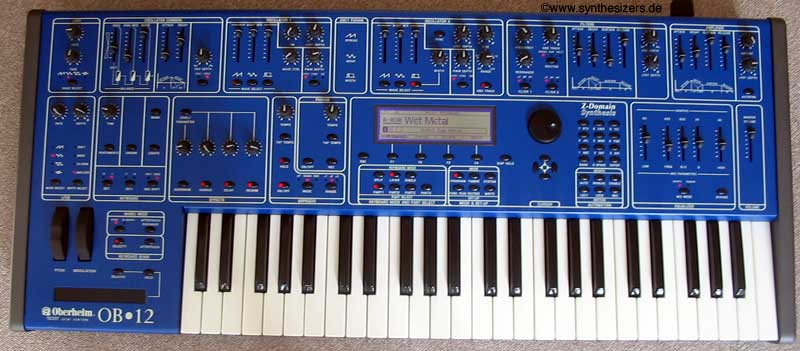 Oberheim OB12 synthesizer